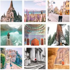 dame traveler instagram voyage-celibattante-girly trip