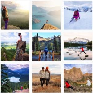 mountaingirl instagram voyage-celibattante-girly trip