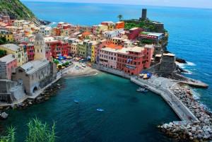 vernazza plage italie
