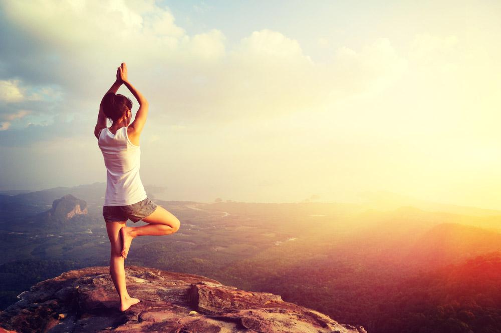 Mère Célibataire qui fait du yoga, burn-out