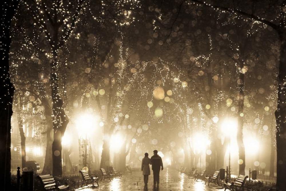 couple sous une nuit etoilee