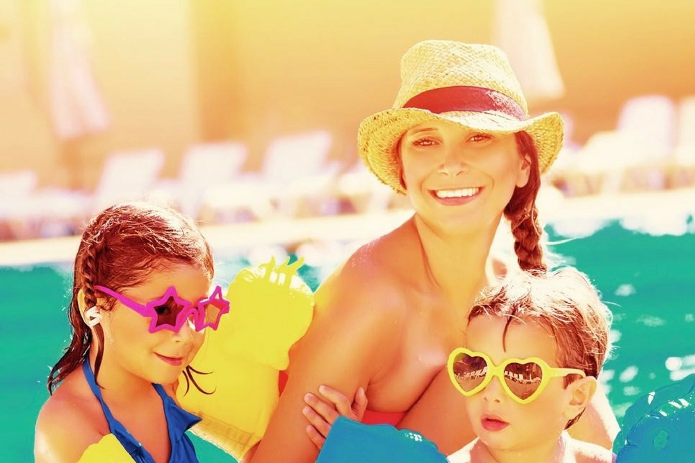 maman solo en vacances avec ses enfants