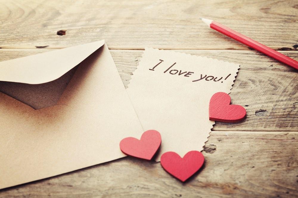 courrier du coeur - lettre d amour