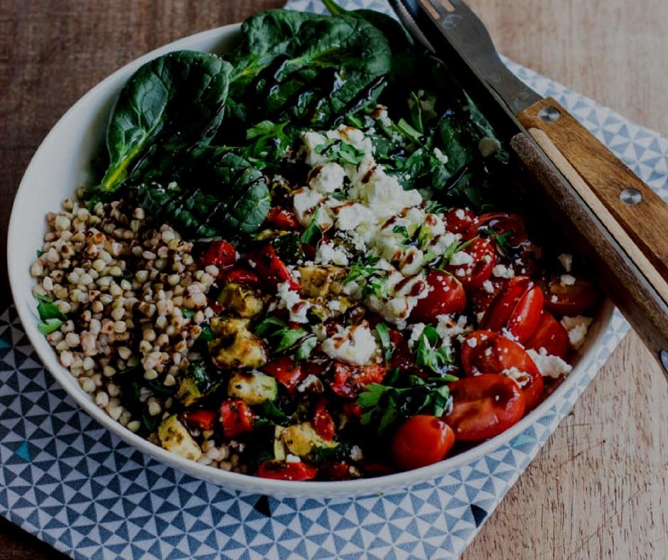assiette salade complete