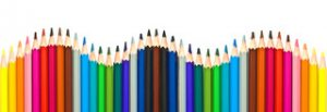 couleurs decoration crayons