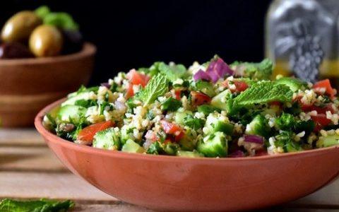 taboule boulgour et quinoa