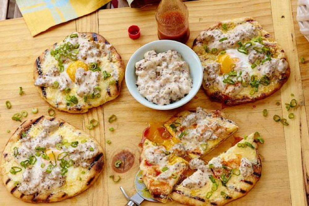 pizza breakfast