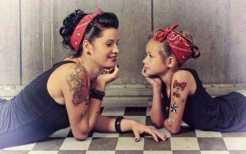mere et fille