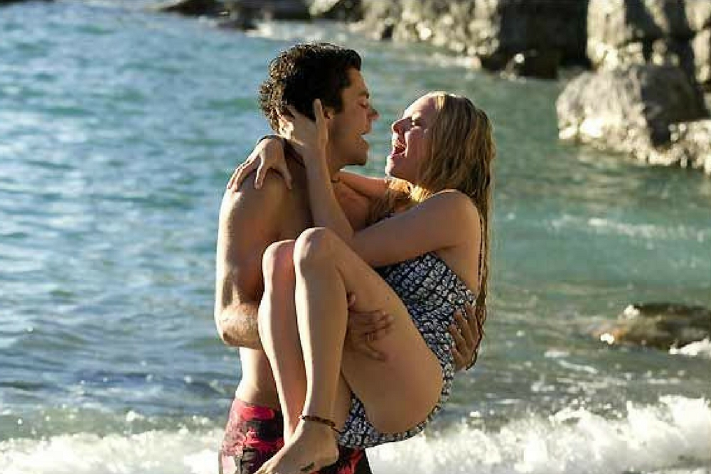 amour couple plage